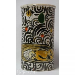 traditional-bush-tucker-ceramic-vase