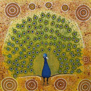 Verna-Lawrie-Peacock-Dreaming-web